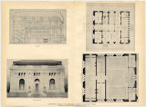 Rosenberg, Henry, Library Museum, competitive design