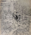 Portland, Oregon, General Diagram of Exterior Highways Radiating From and Encircling the City