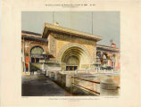 World's Columbian Exposition, Transportation Building, Golden Door