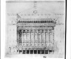 Theater Front, Design for a
