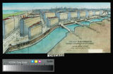 """Ten Years Work of the Chicago Plan Commission"", """"Plan of South Water..."