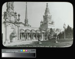 Panama-Pacific International Exposition, Tower of Jewels and HorticulturePalace