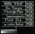 "Chicago planning: ""Vote Yes"" for Chicago Plan Improvements"