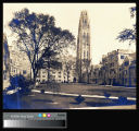 Yale University, Branford Court and Harkness Tower