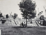 World's Columbian Exposition, Midway Plaisance, American Indian Village [?]