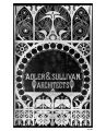 Adler & Sullivan, Architects [glass panel]