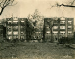 Unidentified apartment building