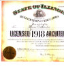 Sailor, Homer Grant, architectural license
