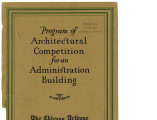 """Program of Architectural Competition for an Administration Building"""