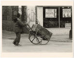 [Man with Pushcart]