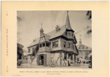 World's Columbian Exposition, Midway Plaisance, German Village, Hessian Town Hall